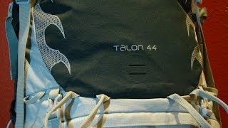 Osprey Talon 44 Pack Review Thumbnail