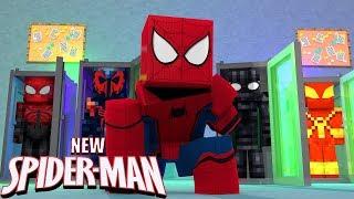Minecraft: NOVA SERIE ?!! - NOVO HOMEM ARANHA 🕷 (NEW SPIDER MAN) #1 ‹ Arthur ›