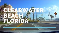 Driving from Clearwater Beach Florida on Gulf Blvd