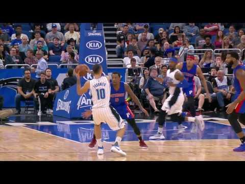 Detroit Pistons vs Orlando Magic | March 24, 2017 | NBA 2016-17 Season
