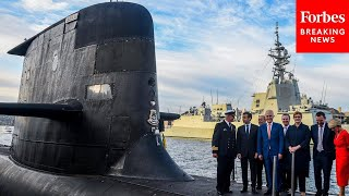 'Stabs Them In The Back': Blinken Grilled About France's Response To Australia Nuclear Sub Sale