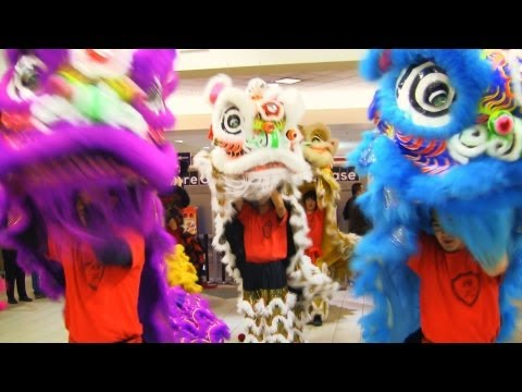 Lion Dance Calgary 2013 at T&T Supermarket