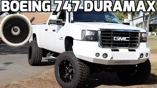 This HUGE LMM DURAMAX sounds like a JET! (RIP Headphone users)