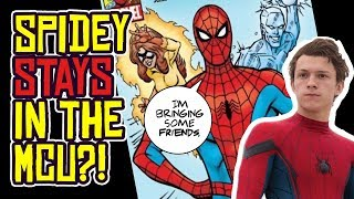 Is Spider-Man STAYING in the MCU... and bringing his AMAZING FRIENDS?!
