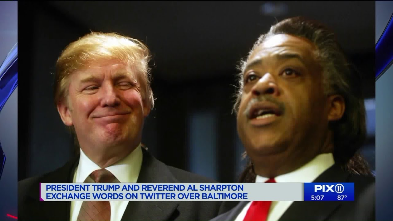 Trump keeps up fight with black community by launching feud with Sharpton