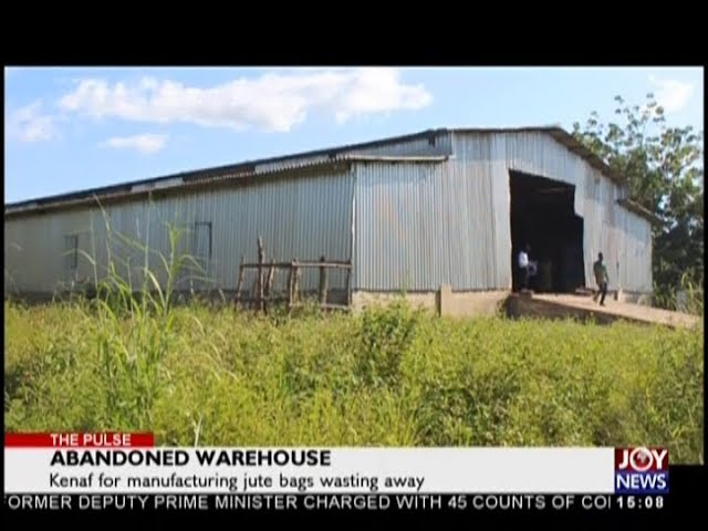 Abandoned Warehouse - The Pulse on JoyNews (19-10-18)