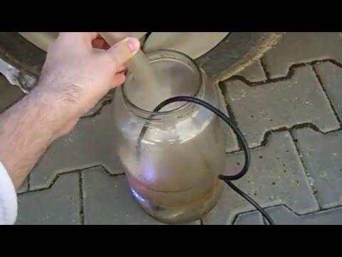 Car running on ultrasonic gasoline mist (1 of 5)