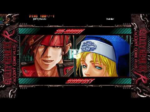 Guilty Gear Xx Accent Core Plus R ( JOGATINA ON ) ROLLBACK |
