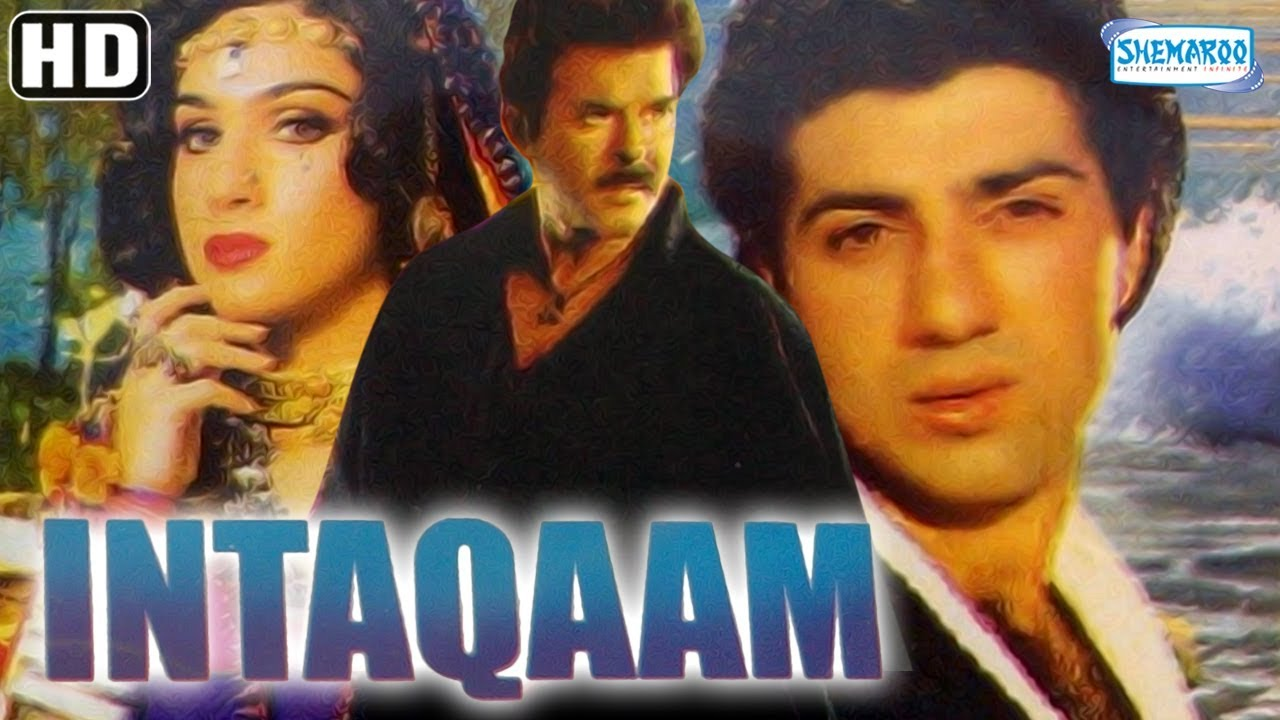Inteqam Hd Hindi Full Movie Sunny Deol Anil Kapoor Kimi Katkar Meenakshi Hit Hindi Movie