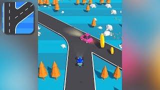Traffic Run - Gameplay Trailer (iOS, Android) screenshot 2
