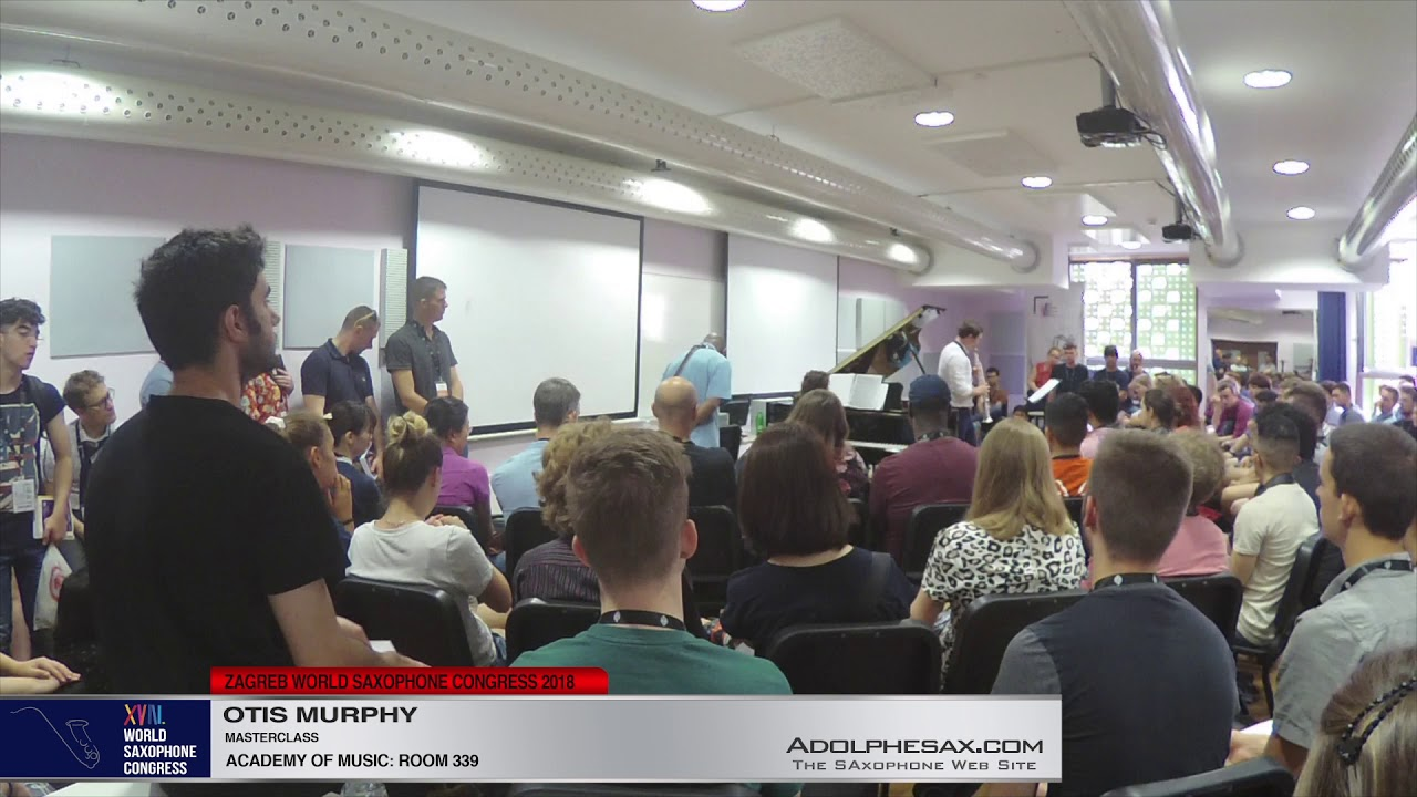 MASTERCLASS   Otis Murphy   XVIII World Sax Congress 2018 #adolphesax