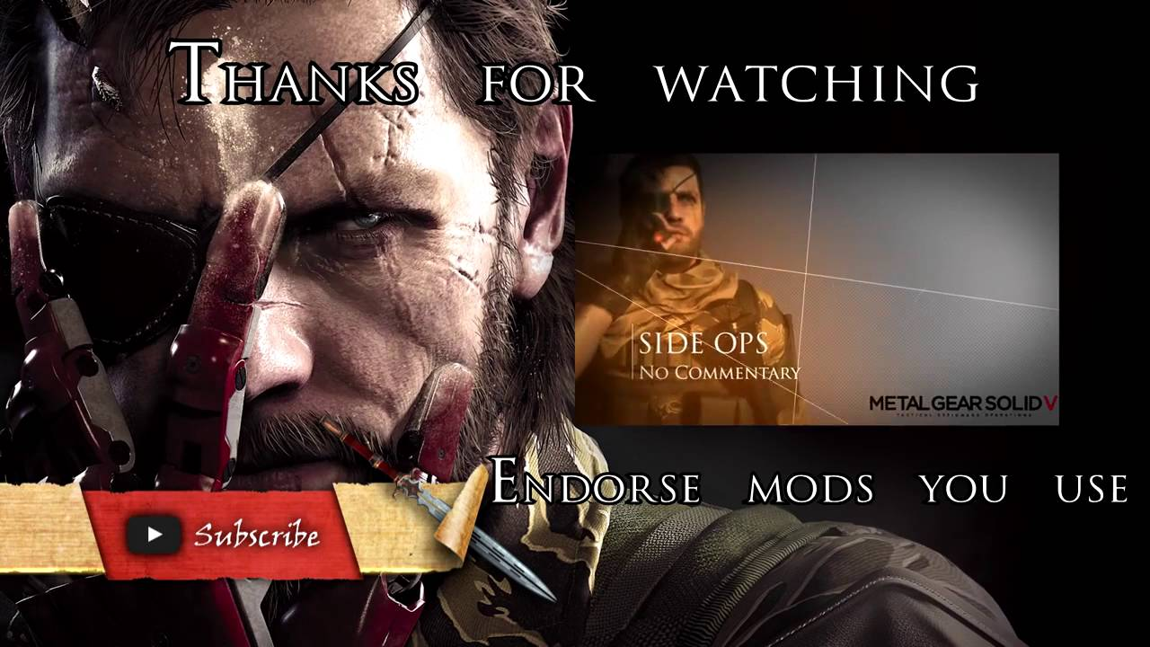 Metal Gear Solid V Mods: DLC and All Item unlocker by Church