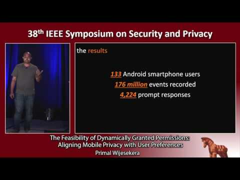 The Feasibility of Dynamically Granted Permissions: Aligning Mobile Privacy with User Preferences