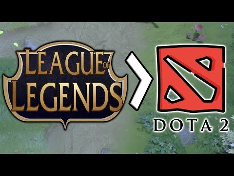 When League of Legends players think Dota is much easier thumbnail