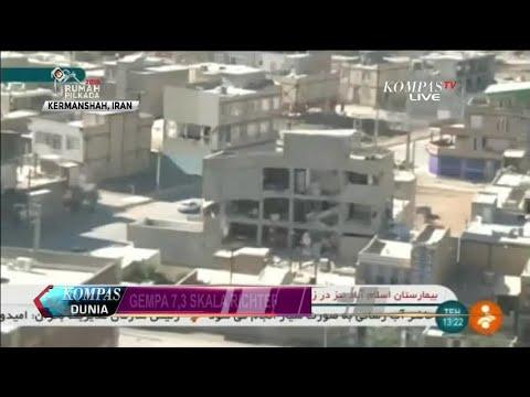 Selain Ratusan Tewas, Gempa Irak  Iran Memaksa Warga....