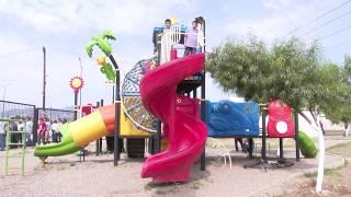 Gobernadora reabre puertas del Parque Infantil en Cananea