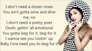 Nicki Minaj Ft Ariana Grande Get On Your Knees Lyrics