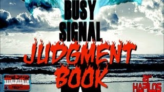 Busy Signal - Judgment Book - Oct 2012