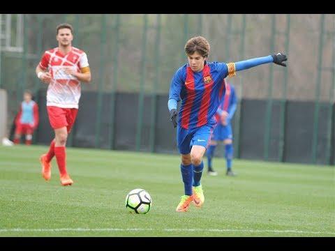 Riqui Puig 2016/2017 ● Barcelona Juvenil B