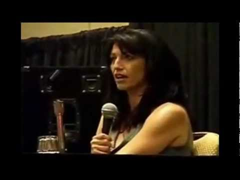 Claudia Black's first and second impression about Michael Shanks