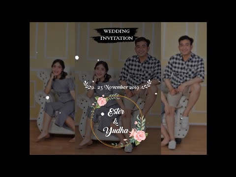 Wedding Invitation Video/Video Undangan Digital