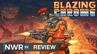 Blazing Chrome (Nintendo Switch) Review (Video Game Video Review)