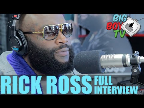 """Rick Ross on """"Black Market"""", Miami Heat, And More! (Full Interview) 