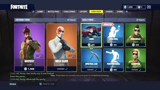 *NEW* SKIN AND WILD CARD! | DAILY ITEM SHOP TODAY! | FORTNITE BATTLE ROYALE (14/9/2018)