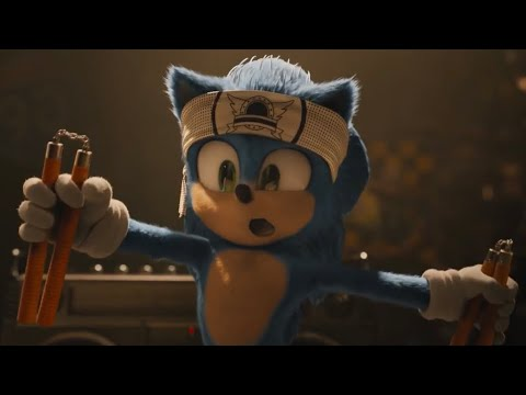 Sonic S Cave Opening Scene Sonic The Hedgehog 2020 Movie Clip Youtube