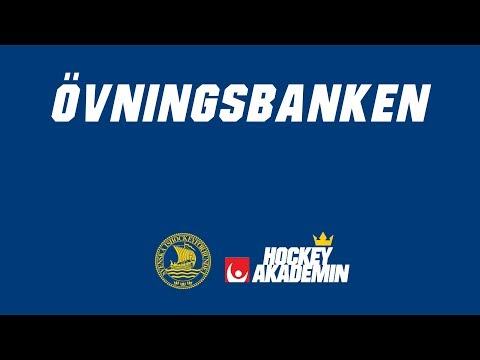 Övningsbanken - Passningsslinga med 2 fasta passare nr 1 (Victor Rask)