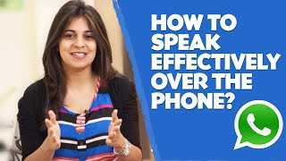 How to speak effectively over the phone? - English lesson - Telephone skills(How to Effectively Communicate over the Phone? Effective communications over the phone require clarity of speech, knowing what you want to convey, and a ..., 2014-01-12T13:29:46.000Z)