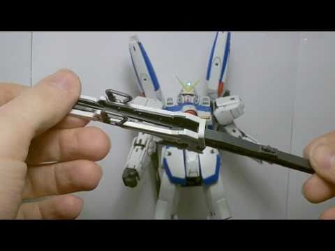 1/100 MG V Dash Gundam ( Dash Pack & Accessories) Review Part 3