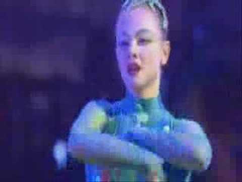 Elena Lev stretching her supple neck - YouTube