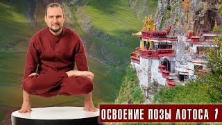 Как достичь? Поза лотоса. Урок 1 разминка (Денис Малинов asanaonline.ru)
