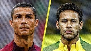 ronaldo vs neymar ● despacito vs rockabye 2017 hd