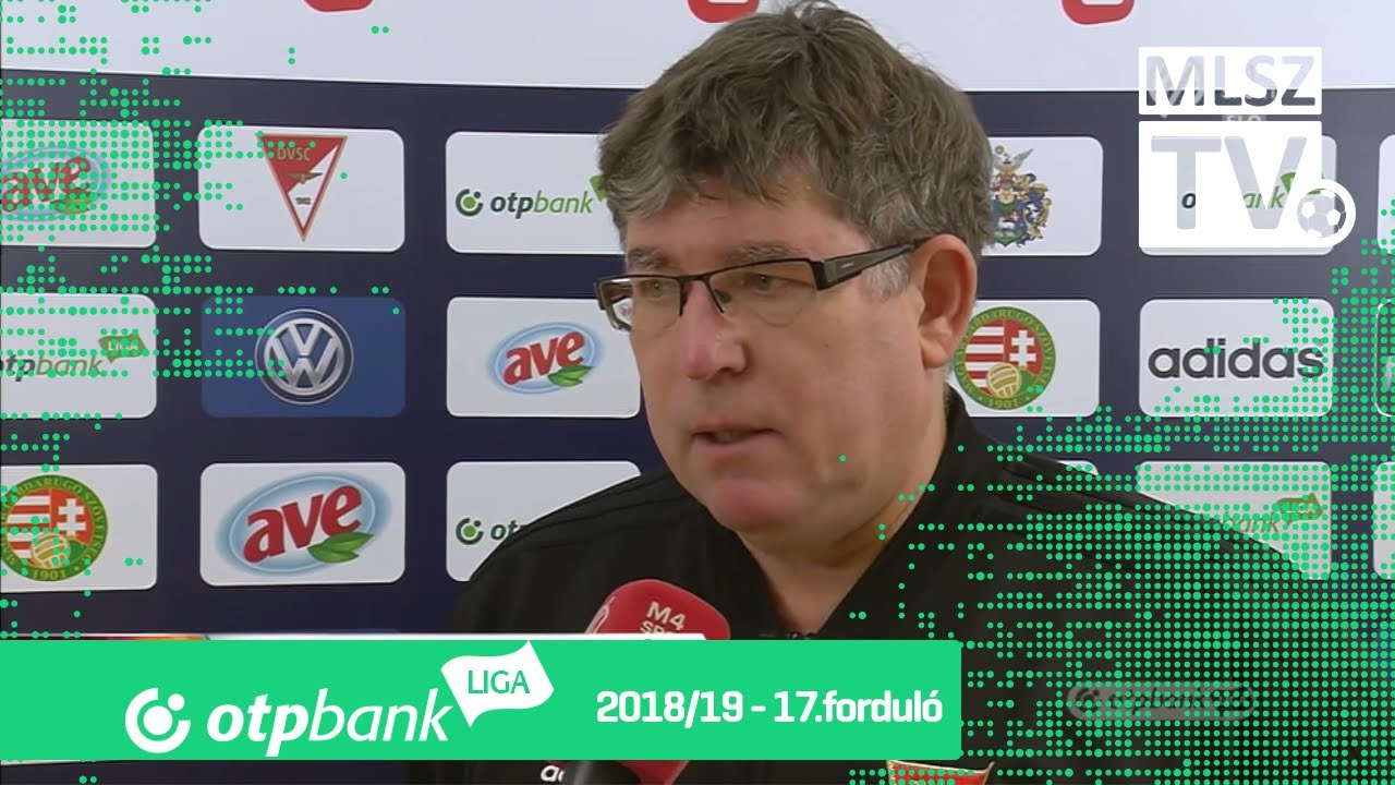 Edzői értékelések a DVSC – Budapest Honvéd mérkőzésen
