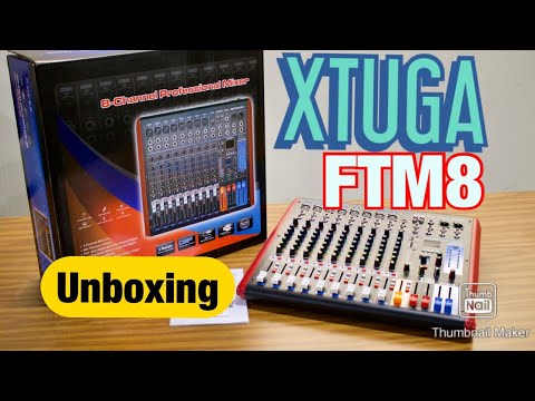 XTUGA FTM8 8-Channel Professional Audio Mixer (Spanish) Review