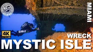 Tec #Wreck Diving: Mystic Isle Ferry (Miami, Florida)
