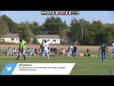 Rose State College Men's Soccer vs Eastern Oklahoma State College