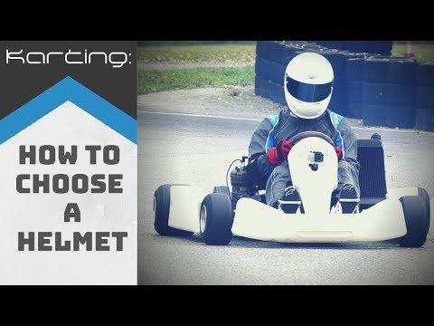 Karting: How To Choose A Karting Helmet [DEU Untertitel]