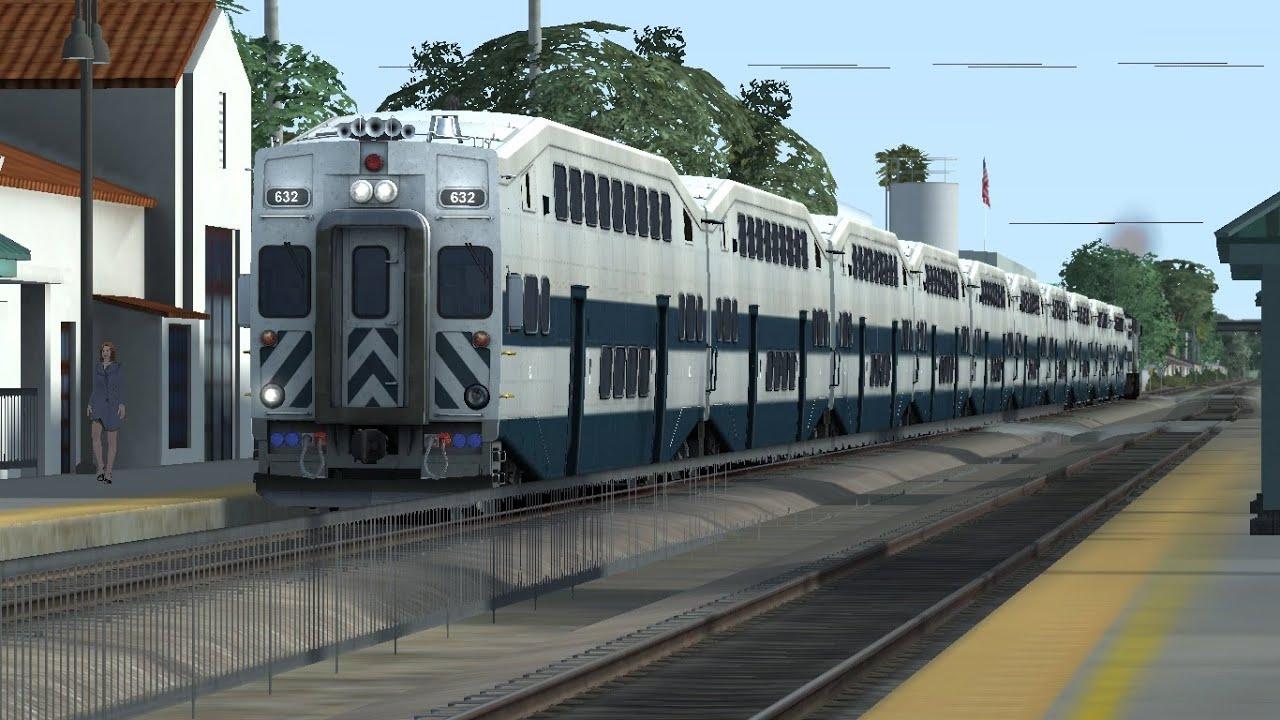 Train Simulator 2015 Hd Long Metrolink 10 Car Trains On
