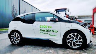 На электромобиле BMW i3 из Германии в Молдову 2400 km