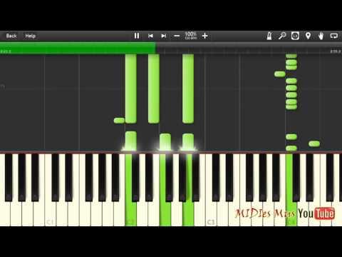 PHARAON - 5 минут назад Piano Cover [Synthesia Piano Tutorial]