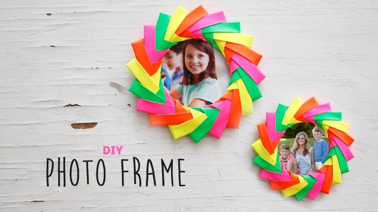Cara Membuat Bingkai Keren Dari Origami Ide Kreatif Youtube