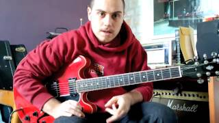 Bruno Mars - Locked out of Heaven - Tutorial per chitarra