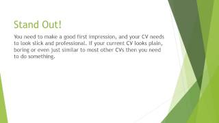Top 4 CV Writing Tips