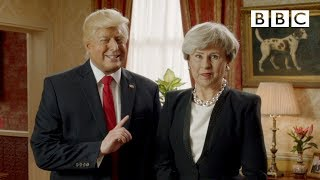 Fox not BBC President Trump tells British PM Theresa May - Tracey Breaks the News - BBC