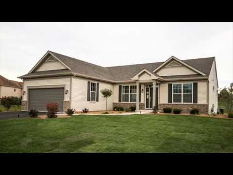 Ranch Home Tour of the Kennedy Model by KLM Builders