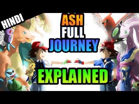 Ash Full Journey Explained (Kanto To Kalos) In Hindi Ft.Many Poketubers