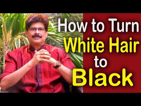 How to turn White Hair to Black  || SoundaryaVedam Ep-114 || Dr.Chirumamilla Murali Manohar ||